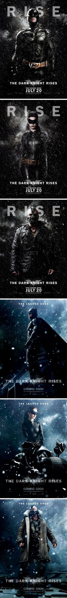 2012.5 The Dark Knight Rises Character Poster