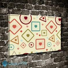 Şekiller Tablo #geometrik_tablolar #geometrik_kanvas_tablolar