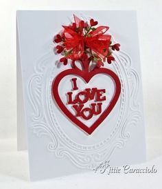 Heart Bouquet Tutorial to make this card is on website