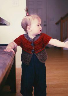 Pardon my Chaos: Cushy Cardi Pattern Crochet For Kids, Crochet Baby, Knit Crochet, Crochet Ideas, Crochet Patterns, Crochet Projects, Free Crochet, Toddler Outfits, Kids Outfits