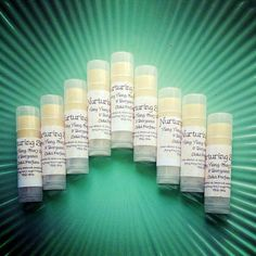 Natural Solid perfume with essential oils of ylang ylang clary sage and bergamot  by NurturingSoul, £3.50