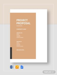 Project Proposal Template Pdf Inspirational Project Proposal Sample 12 Documents In Pdf Word Work Proposal, Proposal Quotes, Business Proposal Sample, Proposal Letter, Free Proposal Template, Project Proposal Template, Docs Templates, Letter Templates, Project Proposal Example