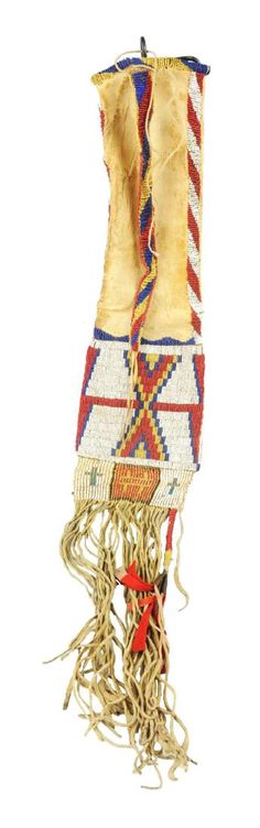 Early Cheyenne Tobacco Bag. : Lot 0004