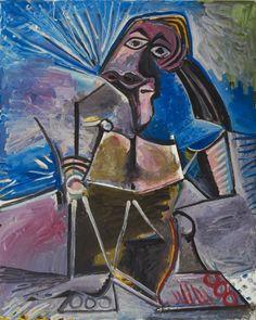 Pablo Picasso - At Work.jpg / #art