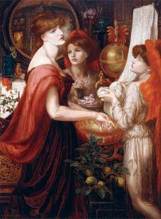 La bella Mano ~ Rossetti