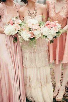 Those bouquets