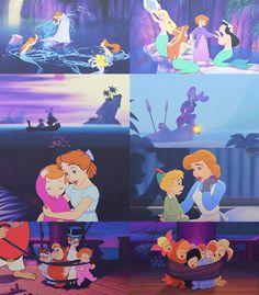 disney peter pan michael and Mrs. Walt Disney, Disney Love, Disney Magic, Disney Family, Peter Pan And Tinkerbell, Peter Pan Disney, Disney And Dreamworks, Disney Pixar, Disney Channel