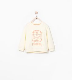 ZARA - COLLECTION SS15 - TRUCK SWEATSHIRT