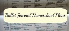 Have you heard about the bullet journal? It's a journal developed by Ryder Carrol. I took his ideas and adapted them to meet my homeschool planning needs.