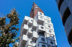 Historical Nakagin Capsule Tower | Airbnb Mobile
