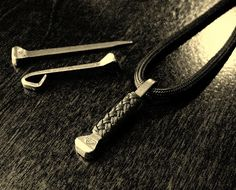 Single horseshoe nail on paracord...,  Go To www.likegossip.com to get more Gossip News!