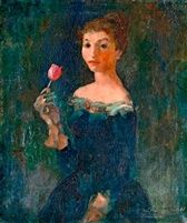 Lány tulipánnal was sold by Nagyházi Gallery, Budapest, on Wednesday, December Lany, Hungary, Budapest, Portrait, December, Gallery, Painting, Women, Headshot Photography