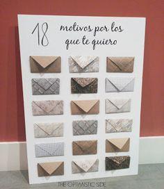 Regalo DIY para pareja (novio, novia, esposo, esposa) o mejor amigo o mejor amiga. Fácil de hacer muy barato handmade muy bonito.