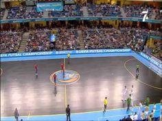 Seleccion futbol sala España vs Portugal