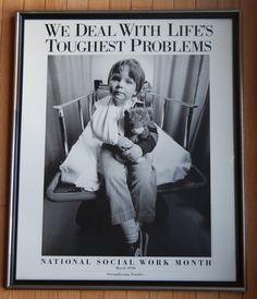 Social work poster
