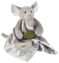 """Baby Aspen Little Expeditions Plush Rattle Lovie with Crinkle Leaf, Ekko The Elephant by Baby Aspen. $15.35. From the Manufacturer                There's a trunkful of fun in Baby Aspen's endearing """"Ekko the Elephant"""" Plush Rattle Lovie, ready to take baby on a jungle adventure. Soft, sweet and touchingly engaging with textures and sounds,like a squeezable crinkle leaf, smooth satin trim and a rattle, Ekko is a gregarious, gray lovie that always gets loved right back..."""