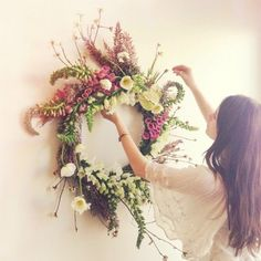 this moon canyon spring wreath is absolutely, freakishly perfect.
