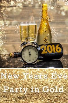 New Years Eve Party in Gold | eBay