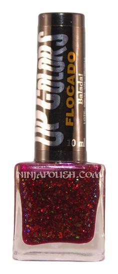 Ninja Polish: Up Colors - Balada, from the Flakies collection