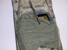 Armorama :: Making Scale Canvas and Tarps by David Creel