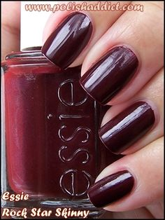 Essie Rock Star Skinny. How could I not heart this?