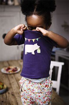 Mini Boden Tee & Pants (Infant) | Nordstrom