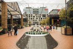 Auckland revival in Britomart, The Pavillions by Cheshire Architects