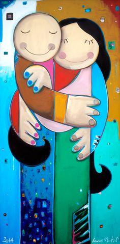 Luciano Martins, Abraço