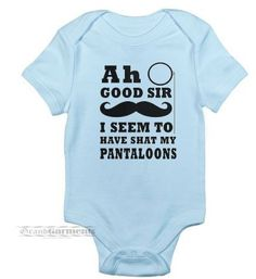 This hilarious and super soft newborn baby boy outfit will leave you laughing every time your little one wears it! This listing includes one
