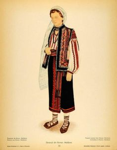 Eastern-European stuff Folk Embroidery, Modern Embroidery, Embroidery Patterns, Folk Costume, Costumes, Fashion D, Medieval Clothing, Antique Quilts, Anthropology