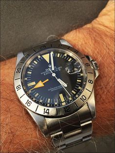 rolex ayo and teo Vintage Rolex, Vintage Watches, Old Watches, Watches For Men, Steinhart Watch, Omega Seamaster Diver, Rolex Explorer Ii, Audemars Piguet Watches, Rolex Oyster Perpetual