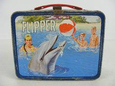 Flipper lunch box 1966