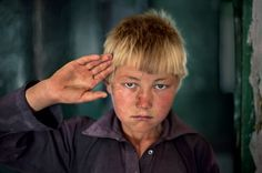 Afghanistan.  Silent Language of Hands   Steve McCurry