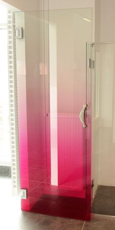 Tempered Glass Shower Partition For Villa Decoration , Lamaintion Glass for sale – Glass Shower Partition manufacturer from china Glass Shower Doors, Glass Door, Glass Printing, Shower Enclosure, Office Interiors, Bathroom Inspiration, Bathroom Interior, Interior Decorating, Ombre Style