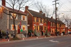 Frederick Maryland Historic Shab Row by Frederick Md Publicity, via Flickr