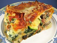 I first had veggie lasagna when I was in hospital, and I just HAD to find a better recipe! Here it is.