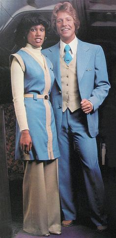 Circa 1970 uniform for Western airlines.