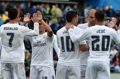 Real Madrid win as Karim Benzema, Isco, Gareth Bale, James Rodriguez and Cristiano Ronaldo score – in pictures