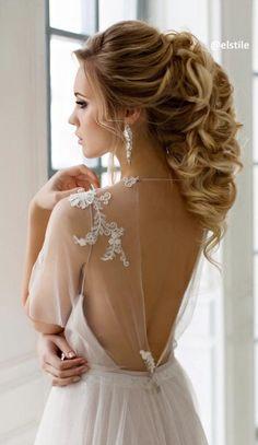 Peinado para novia. Hairstyle for brides.