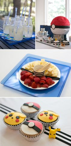 A Pokemon Party – Warm Hot Chocolate A Pokemon Birthday Party: Great Ideas for Party Activities and non-sugary foods to serve. The post A Pokemon Party – Warm Hot Chocolate appeared first on Poke Ball. 6th Birthday Parties, Birthday Fun, Happy Birthday Minions, Themed Parties, 10th Birthday, Birthday Ideas, Festa Pokemon Go, Invitation Fete, Pokemon Party Invitations
