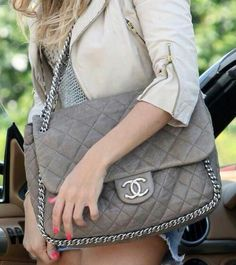 Oversized Chanel #Bags #Chanel