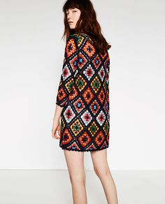 Image 5 of MINI CROCHET DRESS from Zara