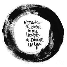 Namaste, un mot qui vient du coeur