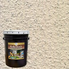 DAICH RollerRock 5 gal. Self-Priming Ivory Exterior Concrete Coating