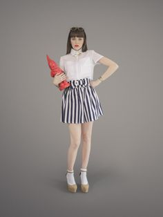 Blackeyed Susan aims to offer uniquely designed garments that stand apart from the international offering. Crop Shirt, Looking Back, Navy And White, Skirts, Wonderland, How To Wear, Clothes, Design, Life