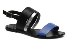 Sole Society ainslie sandal blauw Flats, Sandals, Fashion, Loafers & Slip Ons, Moda, Shoes Sandals, Fashion Styles, Ballerinas, Fashion Illustrations