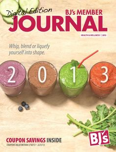 BJ's Wholesale Club - Health and Wellness 2013 - Front Cover