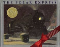 The Polar Express by Chris Van Allsburg. This was made into a movie and we have it on DVD. After you read the book, come check out the movie! Christmas Books For Kids, Childrens Christmas, A Christmas Story, Childrens Books, Christmas Eve, Christmas Ideas, Christmas Train, Christmas Crafts, Polar Express Book