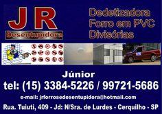 JORNAL AÇÃO POLICIAL CERQUILHO E REGIÃO ONLINE: JR DESENTUPIDORA Dedetizadora Forro de PVC Divisór...