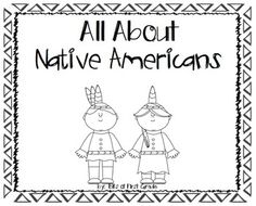 NATIVE AMERICANS - Useful packet of templates to use while you teach about Native Americans...either regions or tribes! Students can create a booklet and do engaging activities! It's made in black and white for easy printing! Native American Lessons, Native American Projects, Native American History, Native American Tribes, 3rd Grade Social Studies, Teaching Social Studies, Pilgrims And Indians, American Day, Facts For Kids